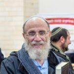 הרב חנוך הכהן פיוטרקובסקי בטקס חנוכת בית הכנסת החדש בהר ברכה | צילום: אריאל נוילדנר
