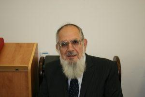 """הרב נחום אליעזר רבינוביץ' זצ""""ל   צילום: נדב אפרתי"""